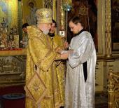 Преподаватель МДА Георгий Максимов рукоположен во диакона