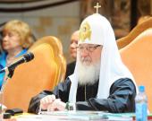 Выступление Святейшего Патриарха Кирилла на открытии XIV Всемирного русского народного собора