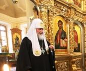 Слово Святейшего Патриарха Кирилла в Введенском соборе Оптиной пустыни