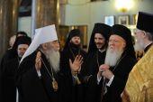 Святейший Патриарх Константинопольский Варфоломей посетил Эрмитаж, Казанский собор и храм Спаса-на-Крови в Санкт-Петербурге