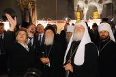 Предстоятели Константинопольской и Русской Православных Церквей посетили Никольский Морской собор в Кронштадте