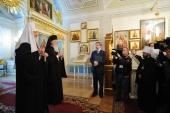 Святейшие Патриархи Варфоломей и Кирилл посетили историческое здание Синода в Санкт-Петербурге