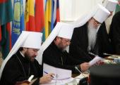 Священный Синод утвердил уставы ряда синодальных учреждений и положение о Синодальной комиссии по делам монастырей