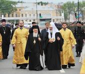 28-31 мая 2010 года состоялся визит Святейшего Патриарха Кирилла в Санкт-Петербургскую епархию