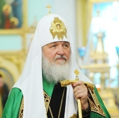 «Как Патриарх я долгом своим считаю сформулировать именно эту задачу — восстановление былой славы святой Карельской земли»