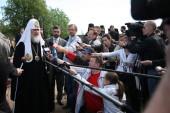 Святейший Патриарх Кирилл: Дай Бог, чтобы русский и польский народы могли взаимодействовать открыто и доверительно не только в моменты скорби, но и в моменты радости