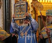 Слово Предстоятеля Русской Православной Церкви после молебна перед Курской Коренной иконой Божией Матери в Храме Христа Спасителя