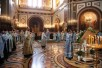Молебен перед чудотворной Курской Коренной иконой Божией матери «Знамение» в Храме Христа Спасителя