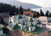 Президент Украины В.Ф. Янукович посетил с паломническим визитом Святую гору Афон