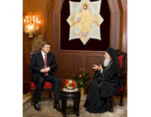 Состоялась встреча Президента Украины с Константинопольским Патриархом Варфоломеем