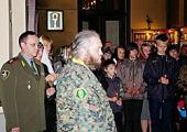 Благотворительная акция для детей погибших воинов прошла в Александро-Невской лавре