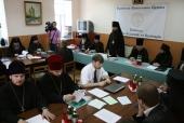 Ряду преподавателей Киевских духовных школ вручены награды Украинской Православной Церкви