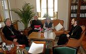 Заместитель председателя ОВЦС встретился с представителем Церкви Англии