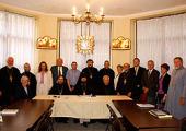 Архиепископ Наро-Фоминский Юстиниан впервые возглавил заседание Епископского совета Патриарших приходов в США