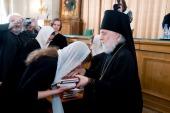 В Московских духовных школах состоялся выпускной акт
