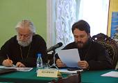 В Московской духовной академии состоялось расширенное совещание ректоров духовных школ Русской Православной Церкви