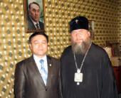 Архиепископ Астанайский Александр встретился с секретарем Комиссии по правам человека при Президенте Республики Казахстан