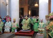 В день тезоименитства митрополит Волоколамский Иларион совершил Божественную литургию в храме иконы Божией Матери «Всех скорбящих Радость» на Большой Ордынке