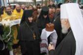 Блаженнейший митрополит Киевский и всея Украины Владимир совершил богослужения на своей малой родине