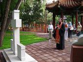В день памяти Собора китайских мучеников в православном храме Пекина совершено праздничное богослужение
