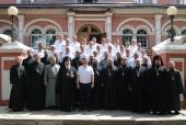В Донском монастыре прошел первый семинар для казачьих атаманов и духовников