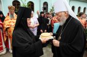 Блаженнейший митрополит Владимир посетил Житомирскую епархию