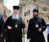 Митрополит Волоколамский Иларион принимает участие в паломничестве к древним христианским святыням Каппадокии