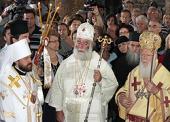 Митрополит Иларион принял участие в Божественной литургии в Каппадокии