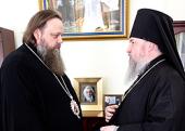 Главы Синодальных структур обсудили вопросы православного образования в учебных заведениях для казаков