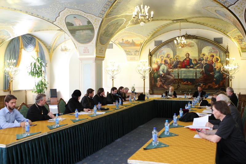 Заседание комиссии Межсоборного присутствия по вопросам взаимодействия Церкви, государства и общества