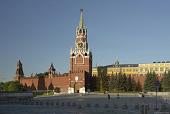 Начата реставрация надвратной иконы на Спасской башне Московского Кремля