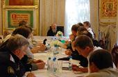 В Донском монастыре прошло заседание профильной комиссии по взаимодействию с Русской Православной Церковью Совета по делам казачества при Президенте РФ