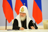 Святейший Патриарх Кирилл: Священники в Киргизии с риском для жизни спасали людей любой национальности и вероисповедания