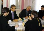 Состоялась встреча председателя ОВЦС с генеральным секретарем Всемирного Совета Церквей О.Ф. Твейтом