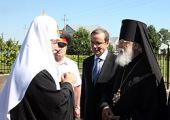 Начался Первосвятительский визит Святейшего Патриарха Кирилла в Тверскую епархию