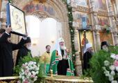 Святейший Патриарх Кирилл посетил Воскресенский кафедральный собор г. Твери