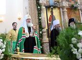 Слово Святейшего Патриарха Кирилла в Воскресенском кафедральном соборе г. Твери