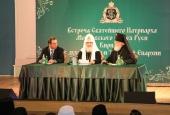 Предстоятель Русской Церкви встретился с духовенством Тверской епархии