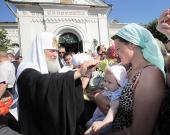 1-2 июля 2010 года состоялся визит Святейшего Патриарха Кирилла в Тверскую епархию