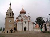 Предстоятель Русской Церкви возглавил церковно-общественные торжества, посвященные 900-летию Свято-Успенского Старицкого монастыря
