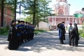 В июле 2010 года в Донском монастыре будут нести службу казаки Терского казачьего войскового общества