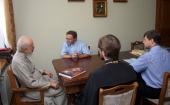 Блаженнейший митрополит Киевский Владимир встретился с президентом Синода Немецкой Евангелическо-Лютеранской Церкви Украины