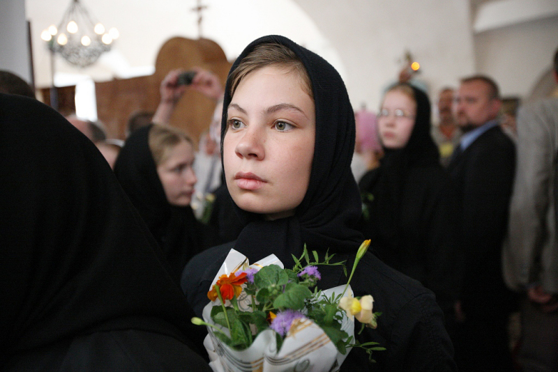 Патриарший визит в Тверскую епархию. Посещение соборов и Екатерининского монастыря города Твери.