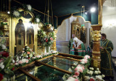 Предстоятель Русской Церкви посетил Спасо-Преображенский монастырь г. Мурома