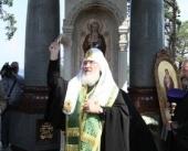 Предстоятель Русской Православной Церкви освятил часовню в честь Валаамской иконы Божией Матери