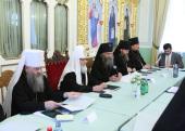 Предстоятель Русской Церкви возглавил заседание Комиссии Межсоборного присутствия по делам монастырей