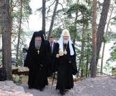 8-11 июля 2010 года состоялся визит Святейшего Патриарха Кирилла на Валаам