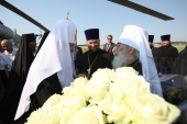 Начался визит Святейшего Патриарха Кирилла в Санкт-Петербург