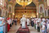 Митрополит Крутицкий и Коломенский Ювеналий освятил Мефодиевский храм Николо-Пешношского мужского монастыря