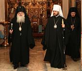 Председатель Отдела внешних церковных связей посетил монастыри и храмы Екатеринбурга